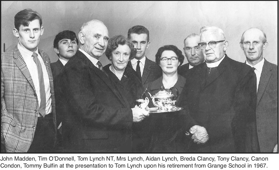 The retirement of Thomas Lynch, NT - Grange (1967)