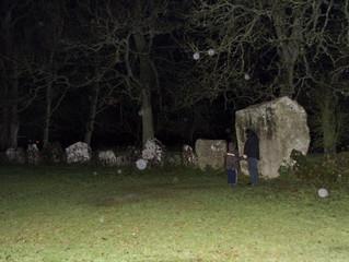 'Orbs' at Grange Stone Circle