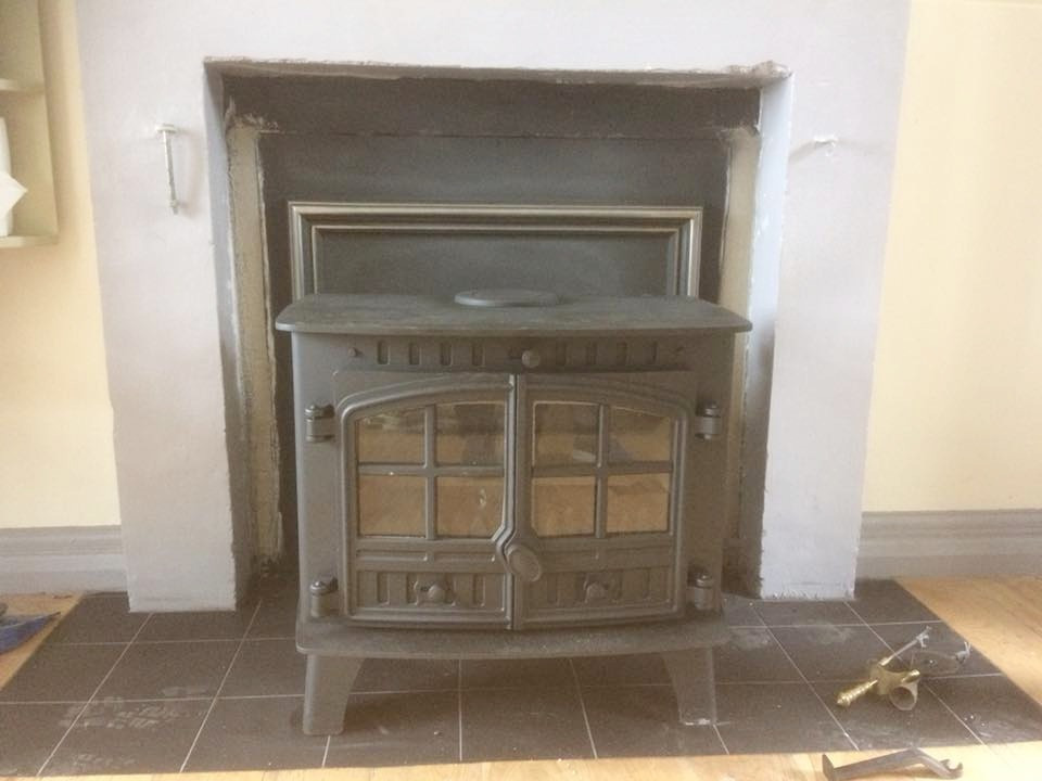 New Stove Fitted