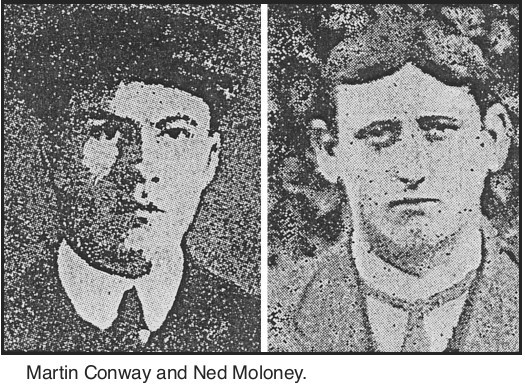 Martin Conway and Ned Moloney (IRA)