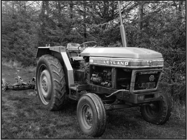 Leyland 270 tractor sold to Holycross Football Club by Joe Ahern