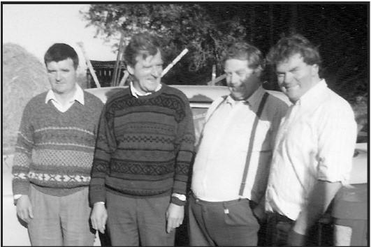 PJ Ahern, Joe Ahern, John Williams and Martin Ahern