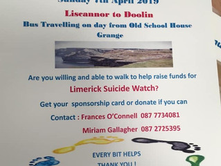 Please Support the Grange Community Fundraiser Walk on Sunday, 07 April 2019