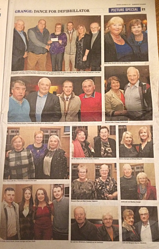 Photographs published by the Limerick Leader