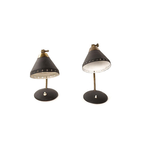 1940s vintage table lamps