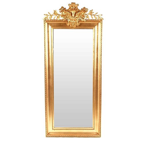 Gold plated salon Mirror