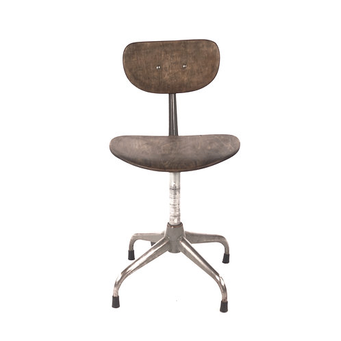 Wooden industrial chair