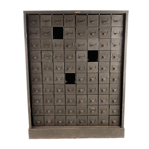 Industrial metal box chest - Bolinders