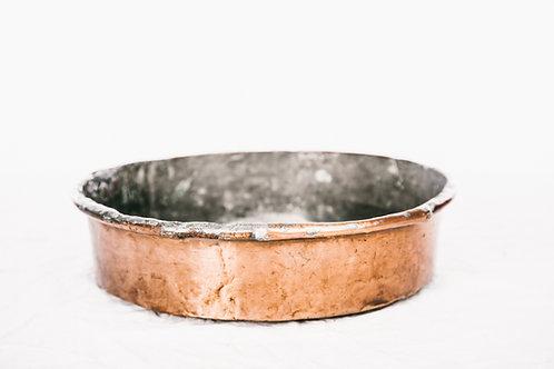 Antique Copper bowl 1900s Sweden