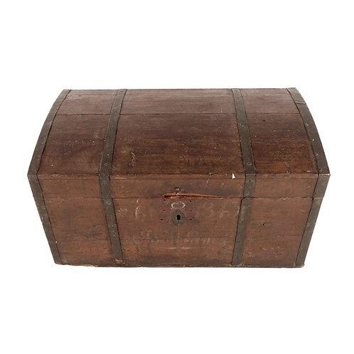 Antiqued bridal chest