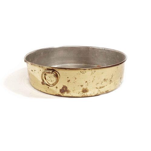 Swedish antique Brass pan