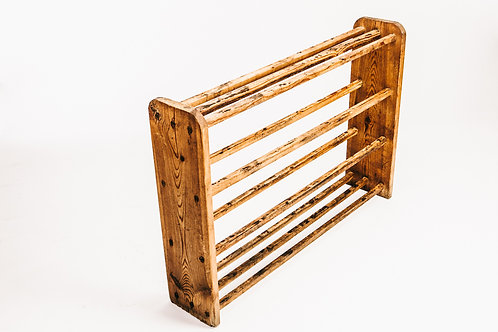 Shoe rack - Late 1800s pine Sweden