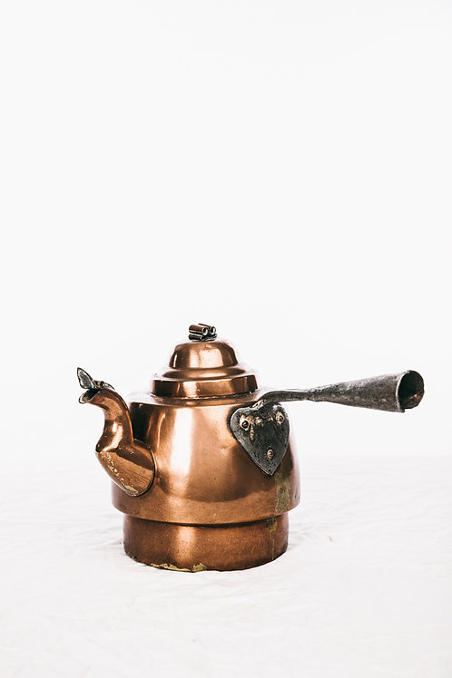 Antique Copper kettle from Sweden early 1900s