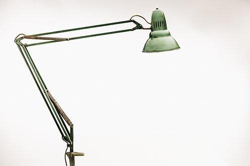 Industrial desk lamp. Sweden. 1940s
