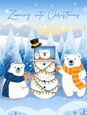 Company Christmas card for 2020
