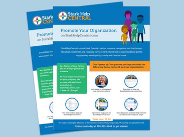 One-sheet fundraising guide
