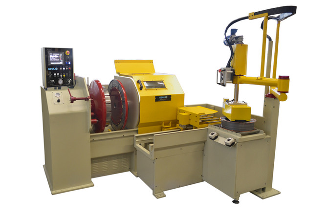 Complete spool handling system