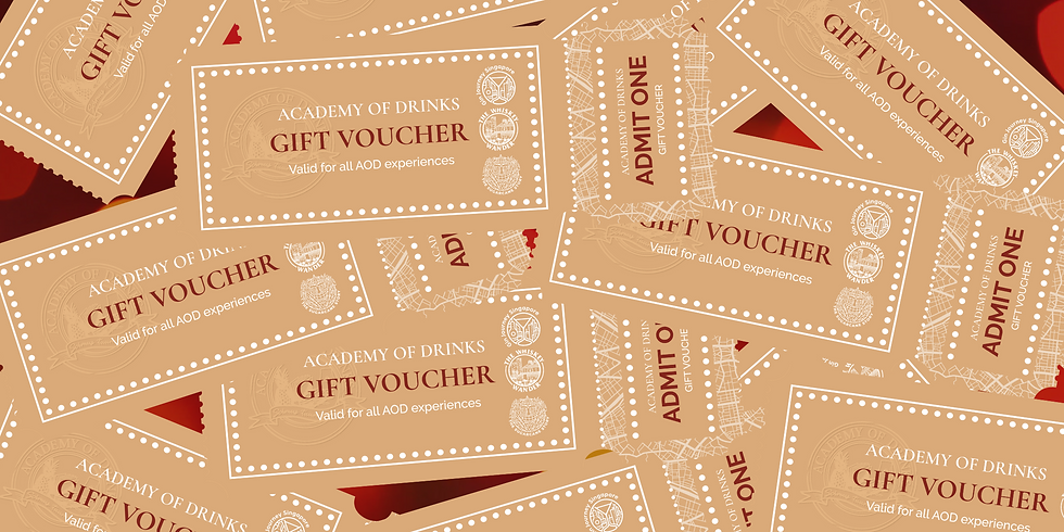 Academy of Drinks Gift Vouchers
