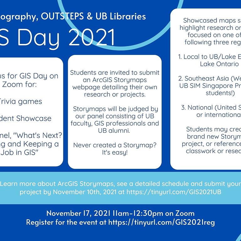 GIS Day 2021 Student ArcGIS StoryMaps Showcase