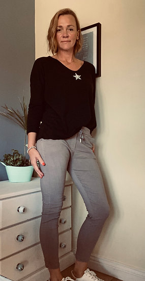 Bluestar  trousers in Black, Camel, Charcoal  and Navy