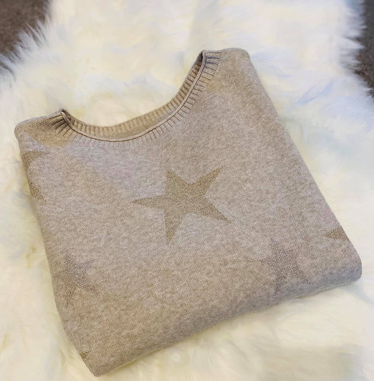 San Remo Star Knit in Stone