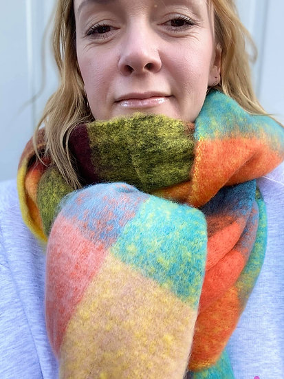 Pastel Rainbow scarf