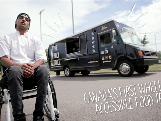 Chef Aleem Syed's Accessible Food Truck is Breaking Barriers