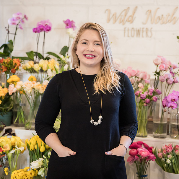 Jennifer Fowlow, Founder of Wild North Flowers