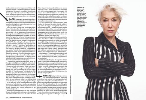 Helen Mirren / Cover Feature