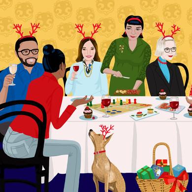 Invite Strangers to Dinner / Jackie Besteman