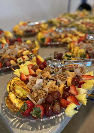 Breakfast Catering Tray
