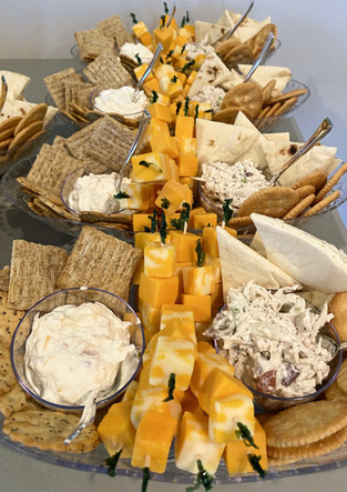 Cheese & Cracker Assortment with Dips