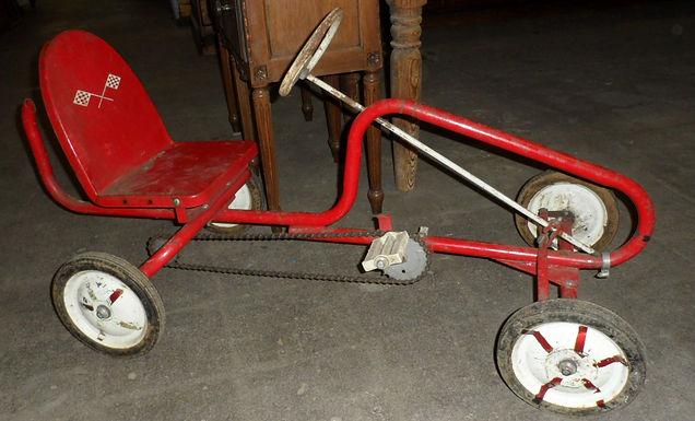 Child's Pedal Car
