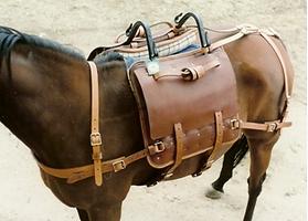 Australian Pack saddle- South Australian