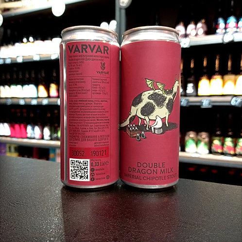 Varvar Double Dragon Milk Банка 0.33