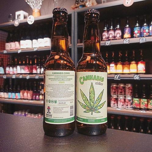 Friday brewery Cannabis Cider 0.33