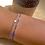 Thumbnail: Bracelet petite étoile en argent