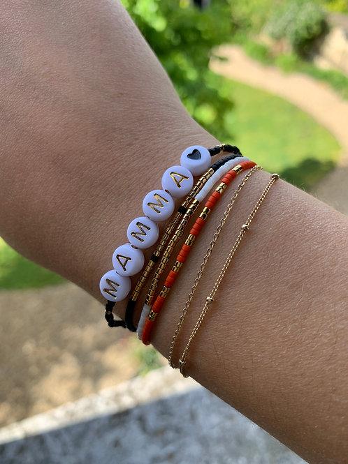 Fête des Mères bracelet personnalisé
