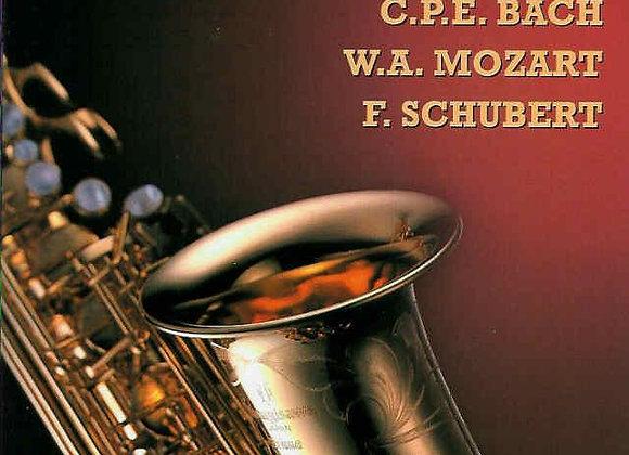 """CD """"BACH MOZART SCHUBERT"""""""