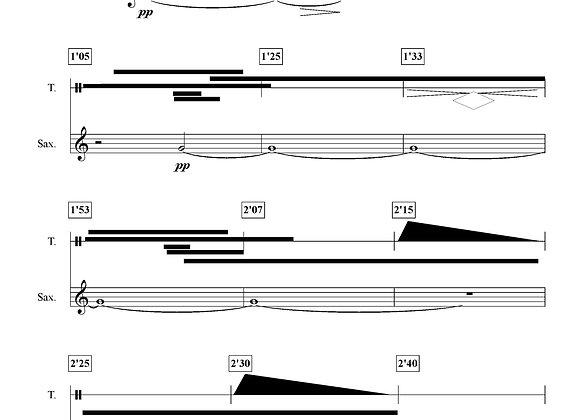 INNER Saxophone alto et bande