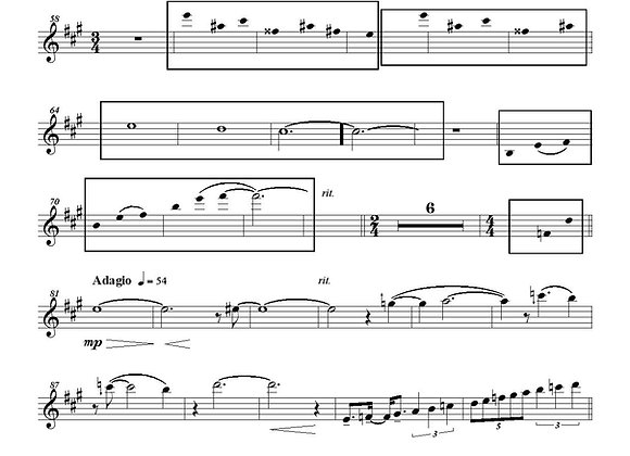 STRAIGHT AHEAD Réduction piano/sax