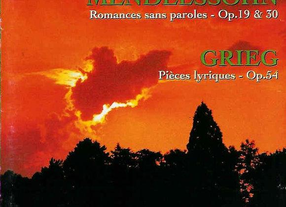 """CD """"MENDELSSOHN GRIEG"""""""