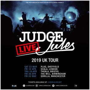 Judge Jules Announces Gorilla Tour Date