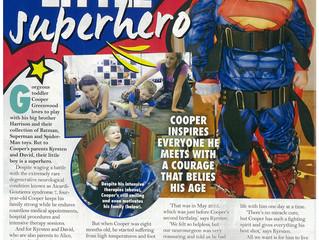 Cooper in New Idea magazine!