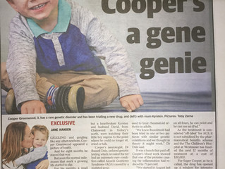Super Cooper in the news