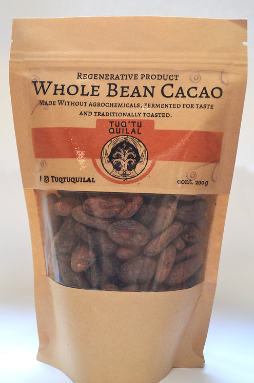 Fermented and sun dried raw cacao beans