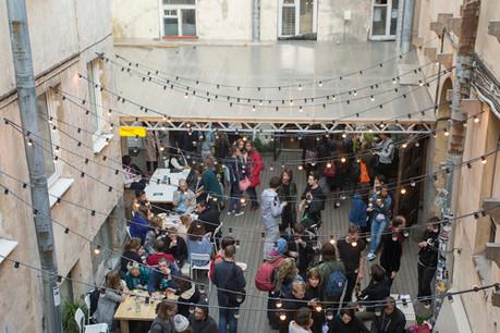 Exhibition opening, 2014 06 27, Taiga art space, Saint-Petersburg.