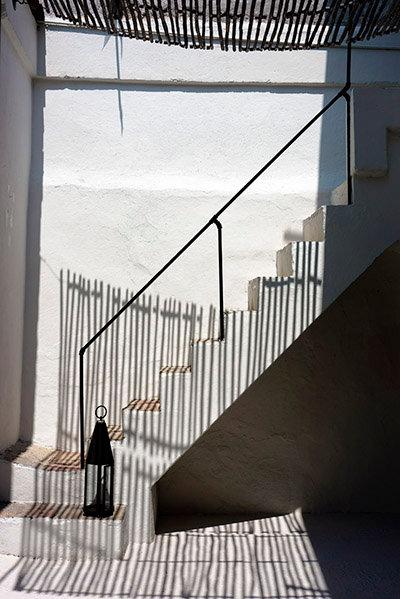 Stairs & Lantern