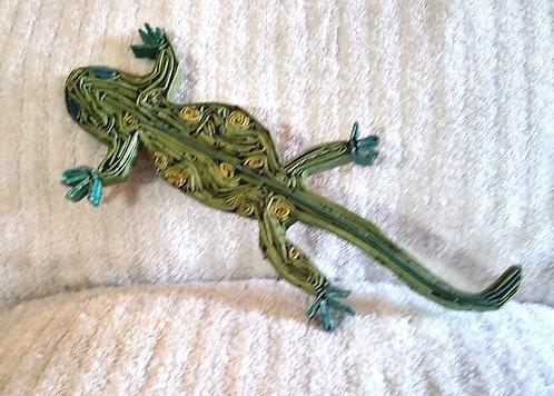 Small Gecko - green