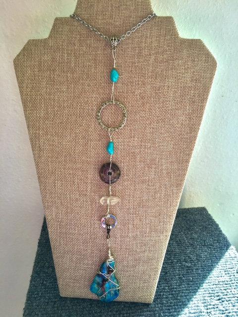 """Unique Handmade """"Y"""" Necklace"""